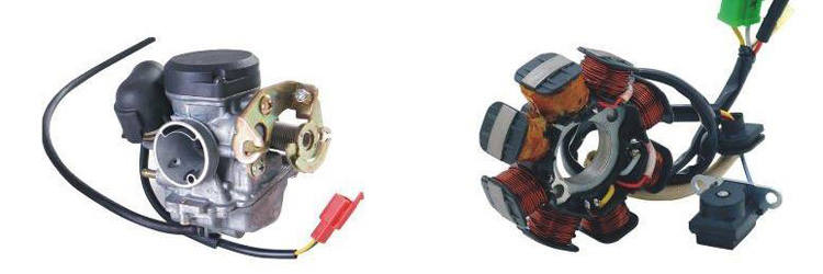 Електроника и горивна система - скутери